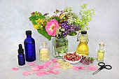 Naturopathic Herbal Medicine for Aromatherapy Oils