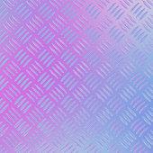 Sweet color diamond plate metal background