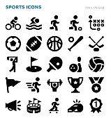 Sports Vector Icon Set