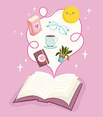 open book imagination literature creative