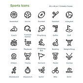 Sports Icons - Outline