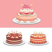 birthday cakes party celebration festive