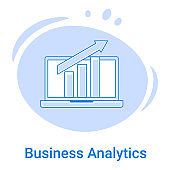 The Business Analytics and Financial Reporting icon.