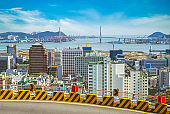 busan harbor and bridge