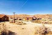 Bodie Ghost Town, Historical State Park in California, USA