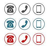 Calssic retro and smart phone