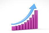 Business Graph Bar
