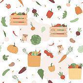 Isolated food on white background. Illustration for restaurant, market, menu, package design