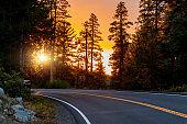 Traveling in USA Southwest: Yosemite National park, California