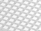 White cube background