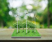 Ecological environment concept