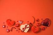 발렌타인데이 레드 백그라운드