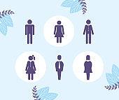 humans avatars figures