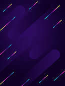 Abstract geometric vertical background. Modern futuristic style.