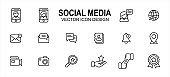social media platform related vector icon user interface graphic design. Contains such icons as profile, picture, photo, share, meet, meeting, virtual, friend, messaging, interaction, life, internet