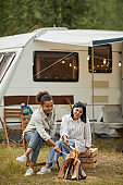 RV Camping in Nature