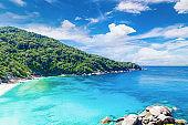 Beauty,Tropical beach, Similan Islands, Andaman Sea, National Park,