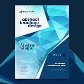Abstract cover design template for brochure, flyer, magazine ,annual report, and presentation