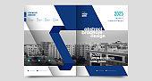 Brochure creative design. Multipurpose template, include cover