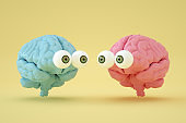 Brain with Eyes, Artificial Intelligence Concept