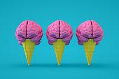 Brain on Ice Cream Cone