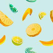 Fruit seamless pattern.
