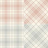 Plaid texture in grey, beige, pink. Fashion texture. Seamless soft cashmere tartan checks for spring summer autumn winter scarf, flannel shirt, skirt, blanket, duvet cover, other modern fabric print.