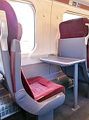 First Class Train Seating