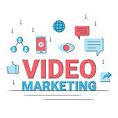 video digital marketing, online business commercial connection