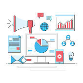 online marketing growth profit, internet business commercial