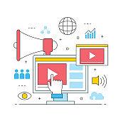video marketing online multimedia commerce advertising
