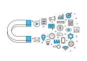 inbound business marketing, magnet and internet of things