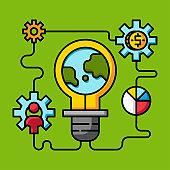 innovation creative idea, make money online