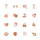 Psycology icon set.