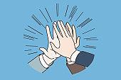 Teamwork, agreement, Success concept