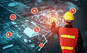 Engineering technology and industry 4.0 smart factory concept