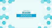 medical and healthcare background with hexagonal shapes