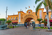 Marketplace of our lady of Africa at Santa Cruz, Tenerife, Canary islands, Spain.