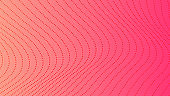 Halftone gradient background with dots
