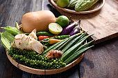Fresh Organic Southeast Asian Vegetables