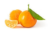 Fresh farm tangerines