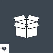 Box Vector Vector Glyph Icon