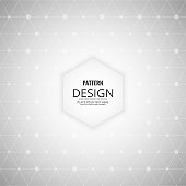 gray background with polygonal lines