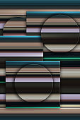 Abstract geometric background with multicolored horizontal stripes. Vertical illustration.