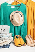 Second hand wardrobe, circular fashion, rent, swap clothes idea.