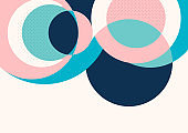 Abstract background with colorful paper cut shapes. Corporate design. Template for a poster, banner, business card, postcard. Vector
