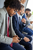 Business communication connection digital devices technology concept