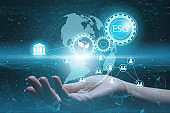 enterprise management according to esg standards for investment. Future technologies to optimize production