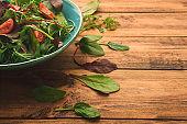 Fresh salad for Vegan lunch