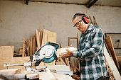 Experienced senior Vietnamese carpenter